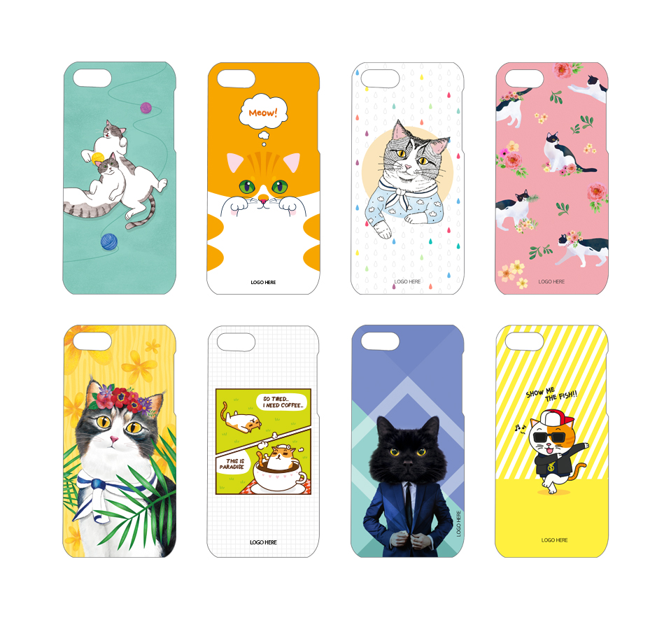 Cat Phone case Designs